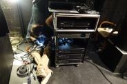 Parmi le nouveau matériel acquis : un nouveau rack d'ampli.